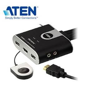 ATEN 2埠USB HDMI KVM多電腦切換器 CS692