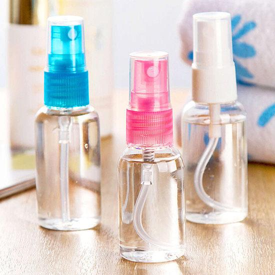 ?MY COLOR?美容透明噴霧瓶罐 化妝水 保養品 旅行 戶外 分類 便攜 隨身 分裝 保濕 (30ml)【J143】