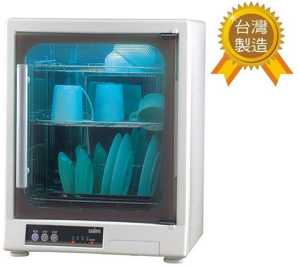 (週末特價$3680) KB-GD65U【聲寶】烘碗機(三層) 光觸媒除臭(公司貨) 保固免運-隆美家電
