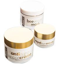 abeeco艾碧可 蜂魔肌三件組-面膜、精華霜、眼霜
