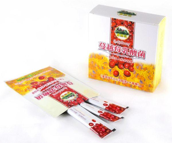 家酪優 蔓越莓乳酸菌 2gx30包/盒 蔓越莓+茄紅素 養顏美容 青春美麗 原價$420 特價$399