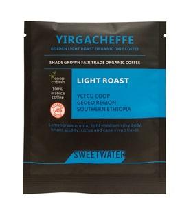 【SWEETWATER】耶加雪夫黃金淺焙有機咖啡豆--掛耳式