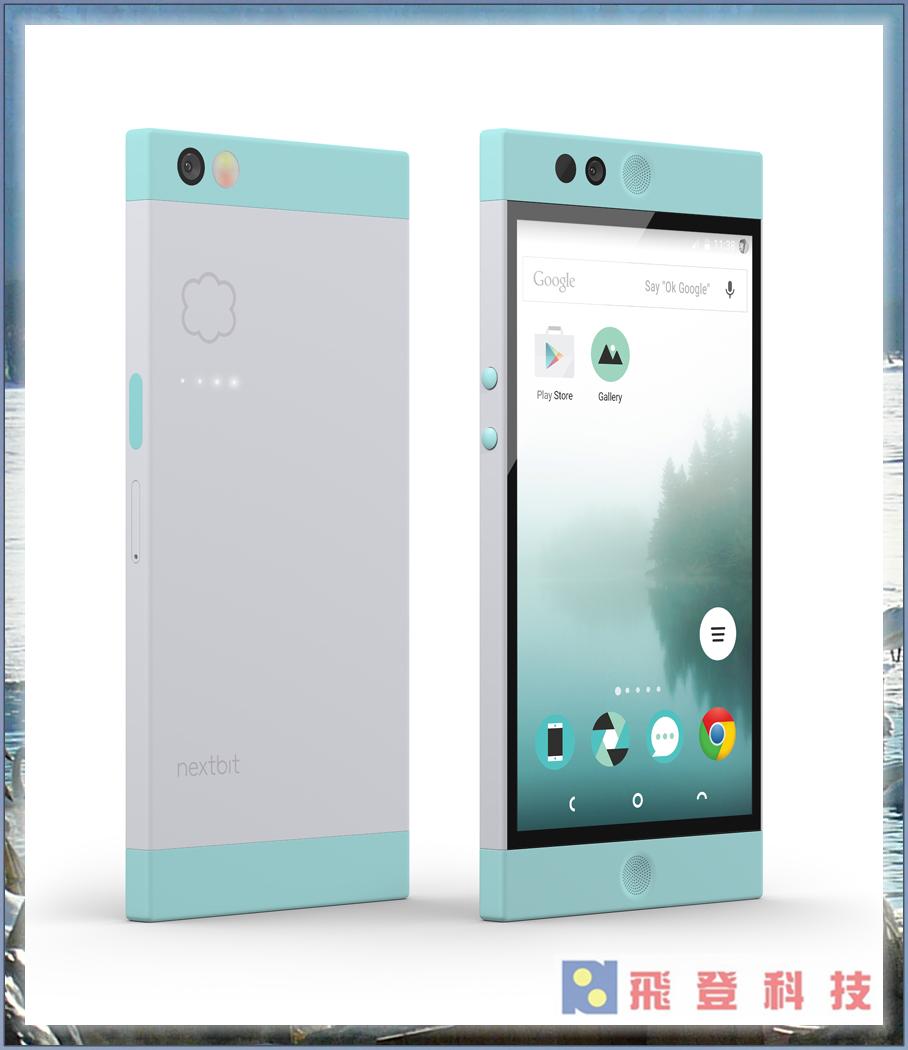 【美國雲端手機】加送原廠快充 軟殼 保貼 羅賓 Nextbit Robin 智慧型手機(晴空藍) 3G+32G加上100G的雲端自動儲存技術終身免費使用 公司貨含稅開發票