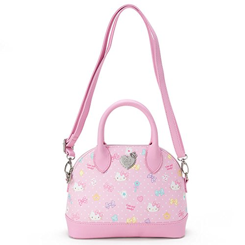 X射線【C890813】HelloKitty2用波士頓包(粉),美妝小物包/圓形化妝包/凱蒂貓/面紙包/化妝包