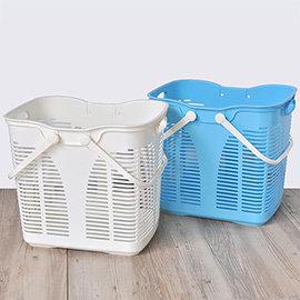 【nicegoods】 運動家洗衣收納籃(35L)(2入)(塑膠 衣物收納 置衣籃)