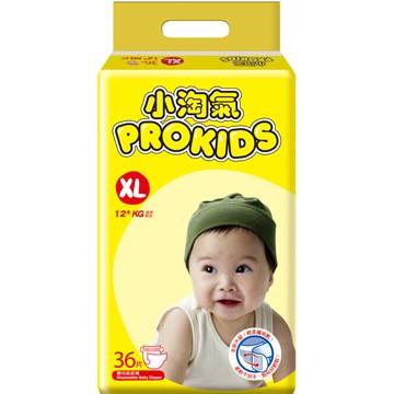 小淘氣 Prokids 紙尿褲 尿布 XL36 片/包