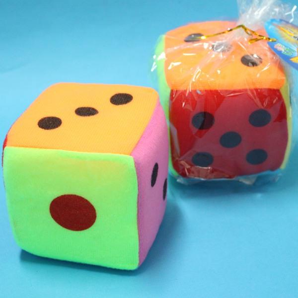 安全骰子 中海綿骰子 4吋骰子 10.5cm x 10.5cm/一個入{促50}~CF61317