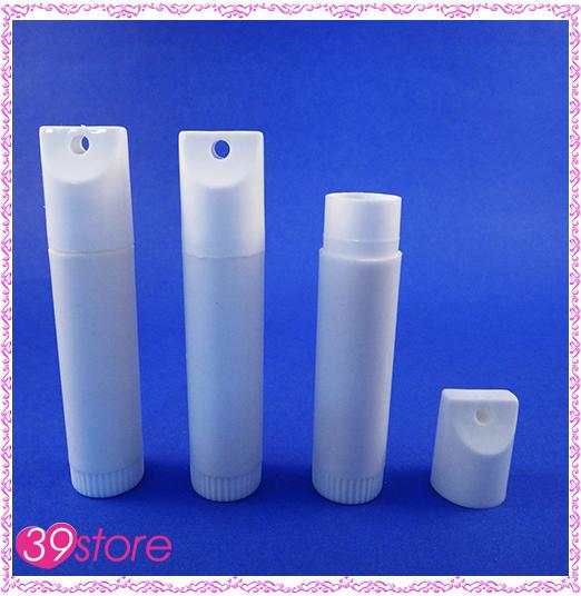 [ 39store ] #819A DIY唇膏空管 蓋子有吊孔 手工護唇膏管 10支一組販售