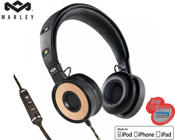 Marley 雷鬼 Redemption Song OE (EAR-MAR-FH023HA) Harvest 可換線頭戴式耳機麥克風 [天天3C]