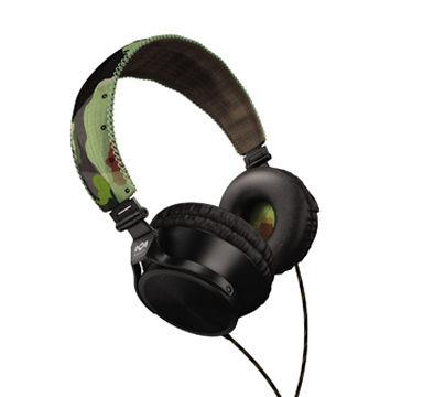 [天天3C] Marley 雷鬼 Revolution (EAR-MAR-JH020RV) (headphone) Revolution 迷彩綠 頭戴式耳機