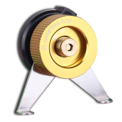 【大山野營】中和 野樂 定向自動閉氣鋁合金轉換接頭 卡式瓦斯轉接頭 轉接座 ARC-920-3