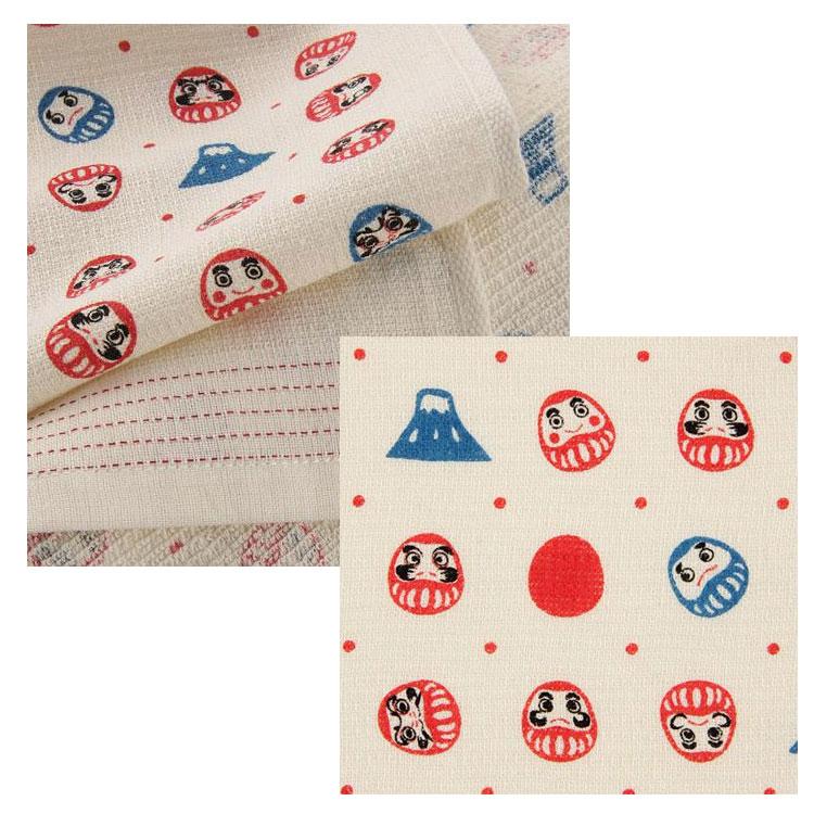 不倒翁 富士山 毛巾浴巾圍巾頭巾多功能 薄輕長 100%綿 也可當裝飾 Kontex日本製