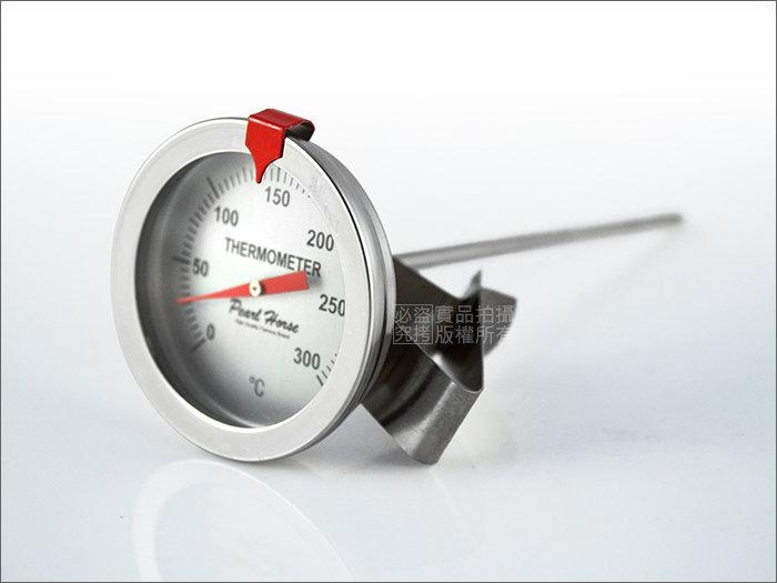 快樂屋? 《日本寶馬牌》304#不鏽鋼溫度計0~300度 適油炸.料理/TA-TM-300