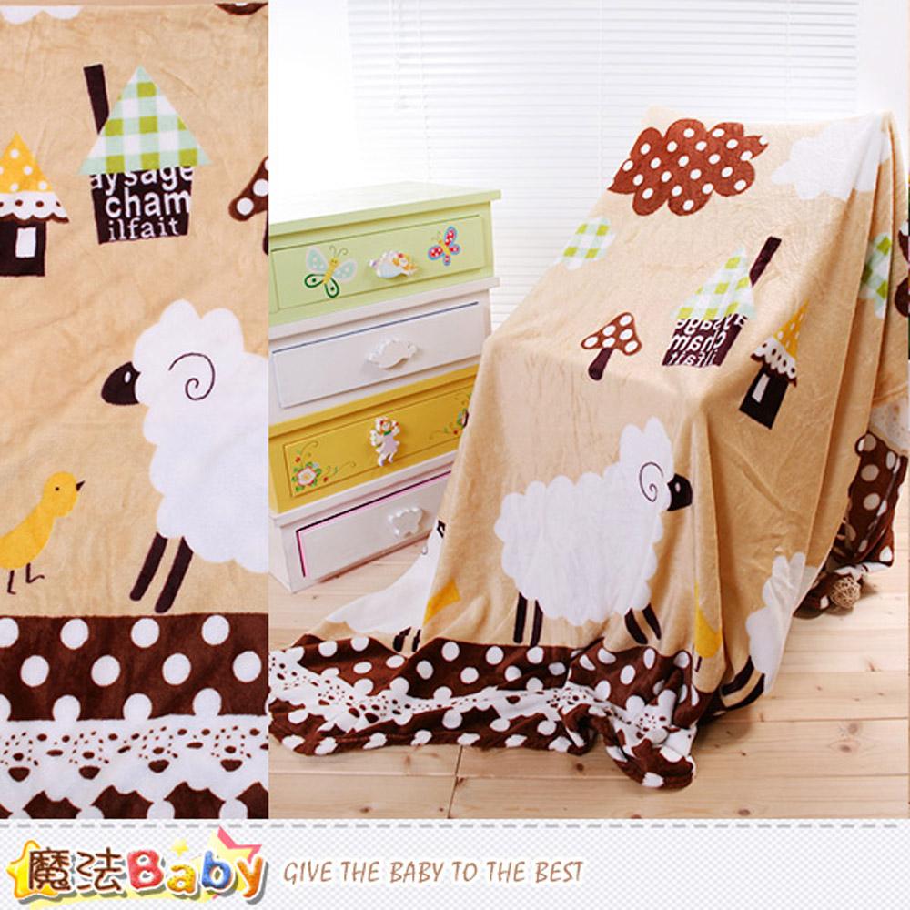 法蘭絨毛毯 140x210cm 四季毯 魔法Baby~w61005