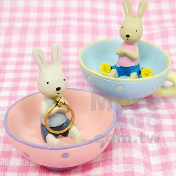 [日潮夯店] 日本正版進口 Le sucre 法國兔 砂糖兔 杯子 飾品 收納 擺飾 共兩款