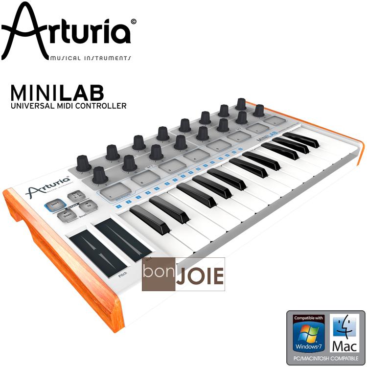 ::bonJOIE:: 美國進口 ARTURIA MiniLab 25-Key MIDI 音樂鍵盤 (全新盒裝) 230401 Controller 控制鍵盤 主控鍵盤 鍵盤 樂器 電子樂器