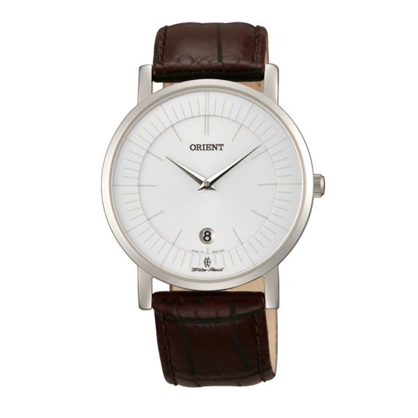 Orient 東方錶(FGW0100AW)極簡超薄時尚腕錶/白面38mm