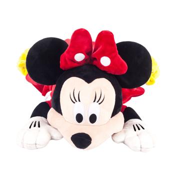 免運 【禾宜精品】迪士尼 米妮 多功能玩偶毯 玩偶 毛毯 枕頭 Zoobies Disney Minnie YZB110 現折100