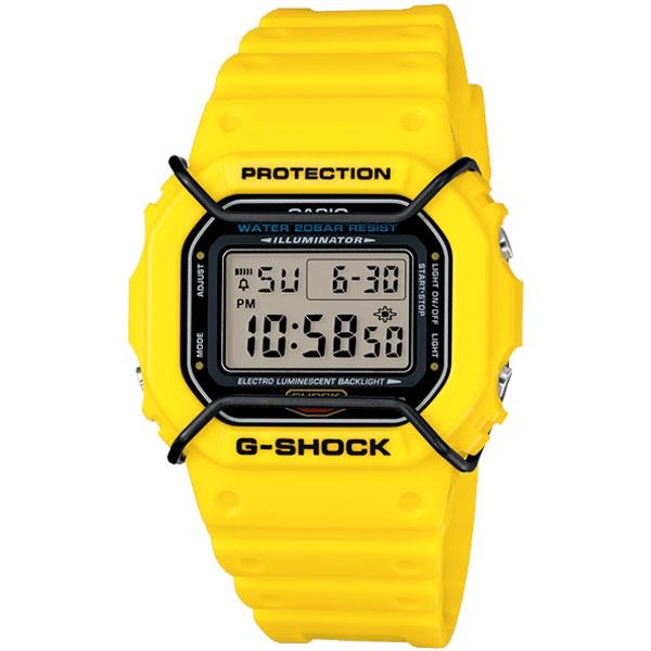 CASIO G-SHOCK DW-5600P-9DR簡約流行數位腕錶/42.8mm