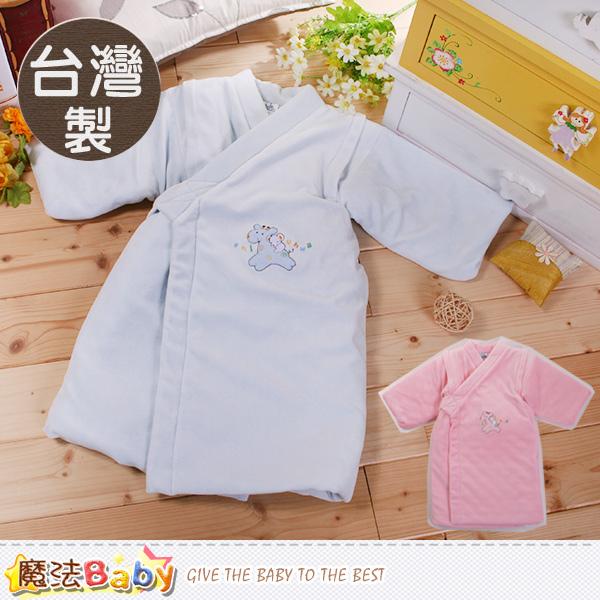 嬰兒和服 台灣製厚鋪棉極暖和服 魔法Baby~h9076