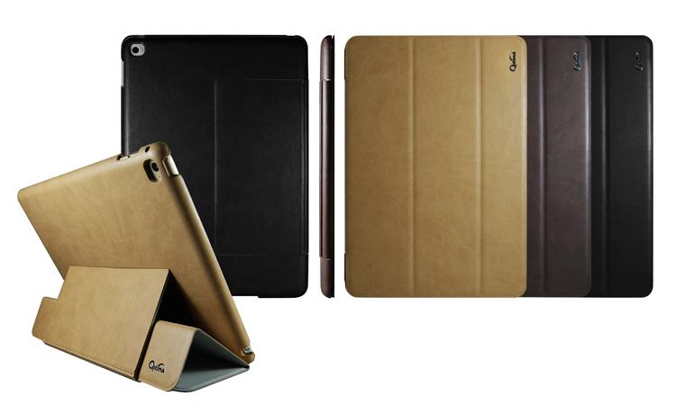 Optima iPad Air 2 義大利 皮革 多角度 手感 保護套