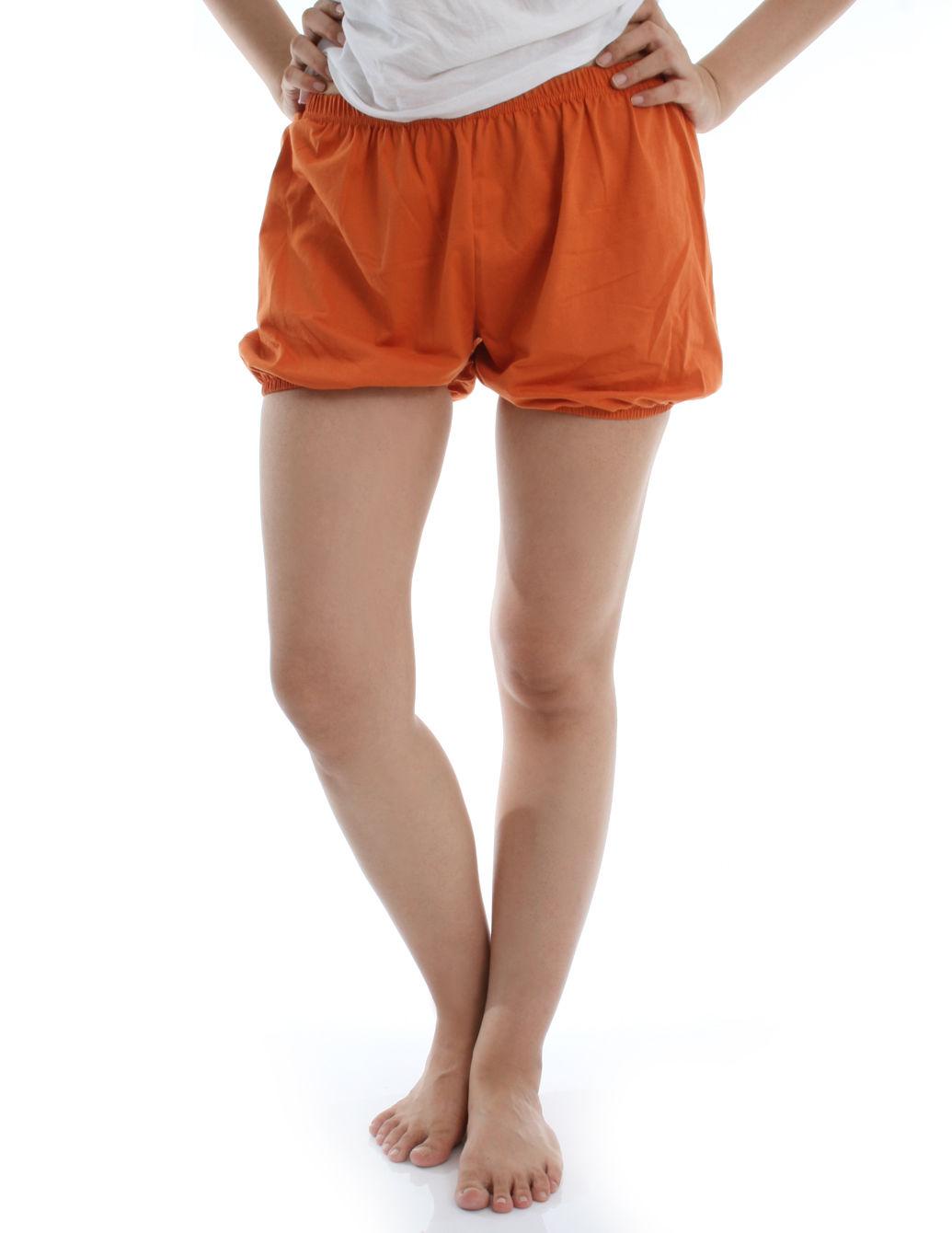RTBU瑜珈褲~燈籠褲造型。橘色