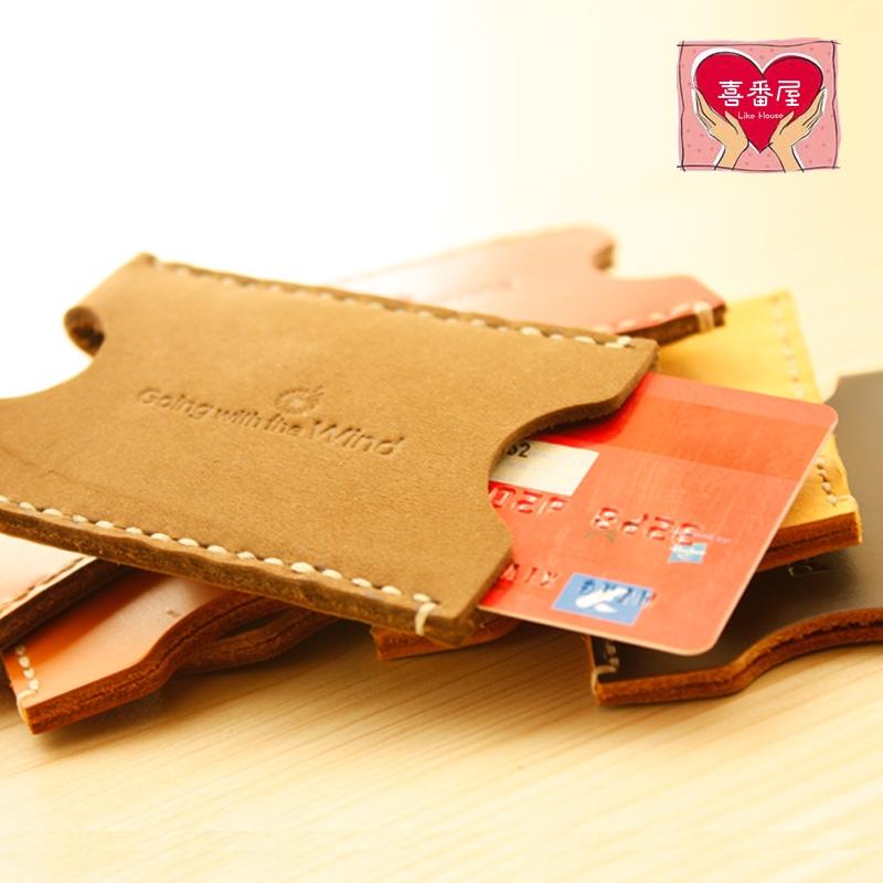 【喜番屋】日韓版真皮牛皮男女通用輕薄隨身悠遊一卡通金融銀行信用卡卡片包卡片夾卡包卡夾卡冊卡套保護套男包女包CB84