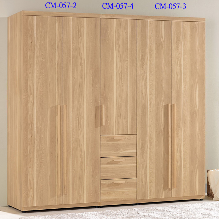 【尚品傢俱】CM-057-1 波里斯6.6尺組合式衣櫥(全組)