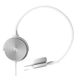 hoomia 好米亞|U3 classic headphones 經典旋轉折疊耳罩式耳機-銀白