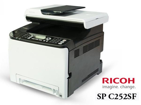BO雜貨【YV6304】理光 Ricoh SP C252SF彩色雷射多功能事務機 影印 列印 傳真 掃描