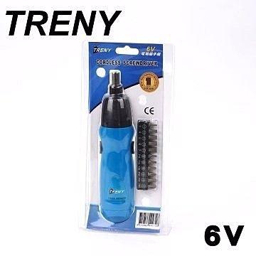 Loxin【SL0831】TRENY 6V 電動起子機 電鑽 螺絲起子 五金修繕 維修工具 電鑽工具