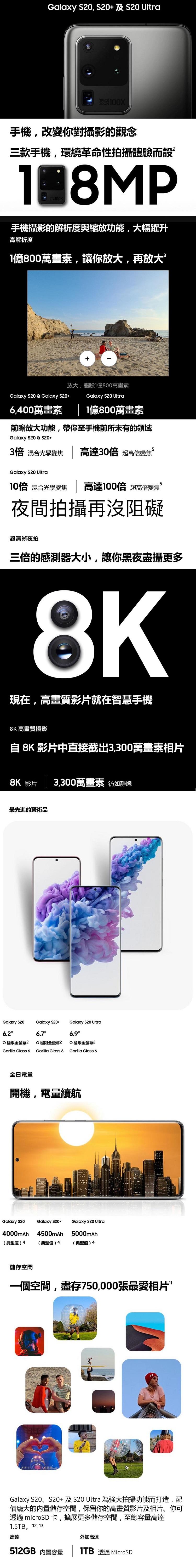 Samsung Galaxy S20 12G/128G