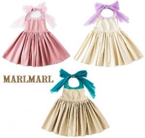 日本【MARLMARL】bouquet兒童圍裙圍兜(80~90cm)