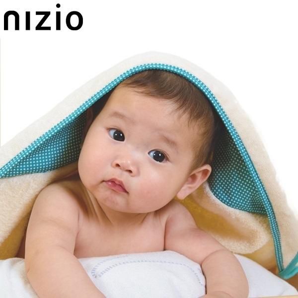 nizio多功能成長型浴巾(綠)