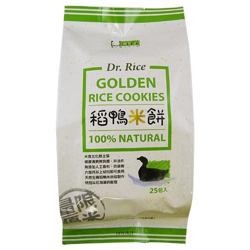 台灣【Dr.Rice】稻鴨米餅 原味(25入/包)