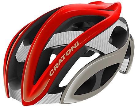 【7號公園自行車】德國 CRATONI TERRON 頂級公路車安全帽(紅)