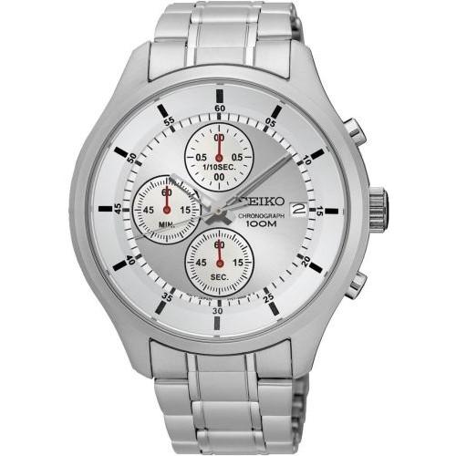 【錶飾精品】SEIKO手錶 精工錶 SKS535P1 日期 三眼計時 鋼帶男表 全新原廠正品 生日情人禮物