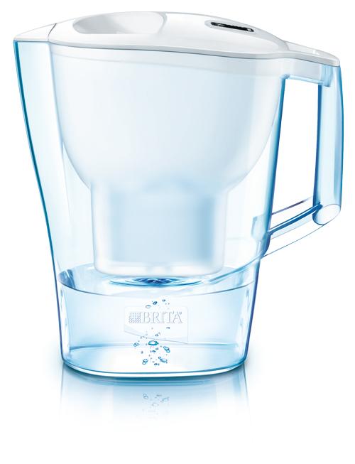 德國BRITA 2.4公升Aluna CL愛奴娜透視型濾水壺【內含二支MAXTRA濾芯】