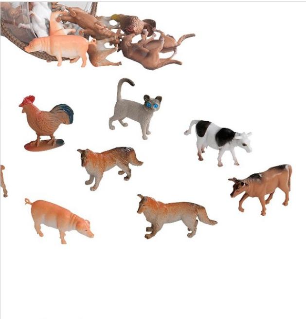 【淘氣寶寶】【美國B.Toys感統玩具】美國 TERRA 農場動物