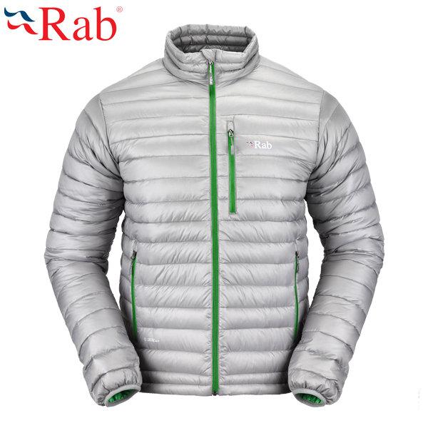《台南悠活運動家》 RAB 英國 Microlight Alpine 男款 輕量羽絨保暖外套 QDA56