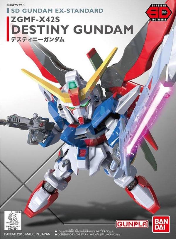 ◆時光殺手玩具館◆ 現貨 組裝模型 模型 鋼彈模型 BANDAI SD鋼彈 EX-STANDARD 009 命運鋼彈