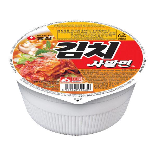 韓國泡麵 農心 泡菜拉麵 (碗裝)