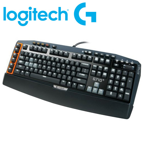 Logitech 羅技 茶軸 G710+ 機械遊戲鍵盤