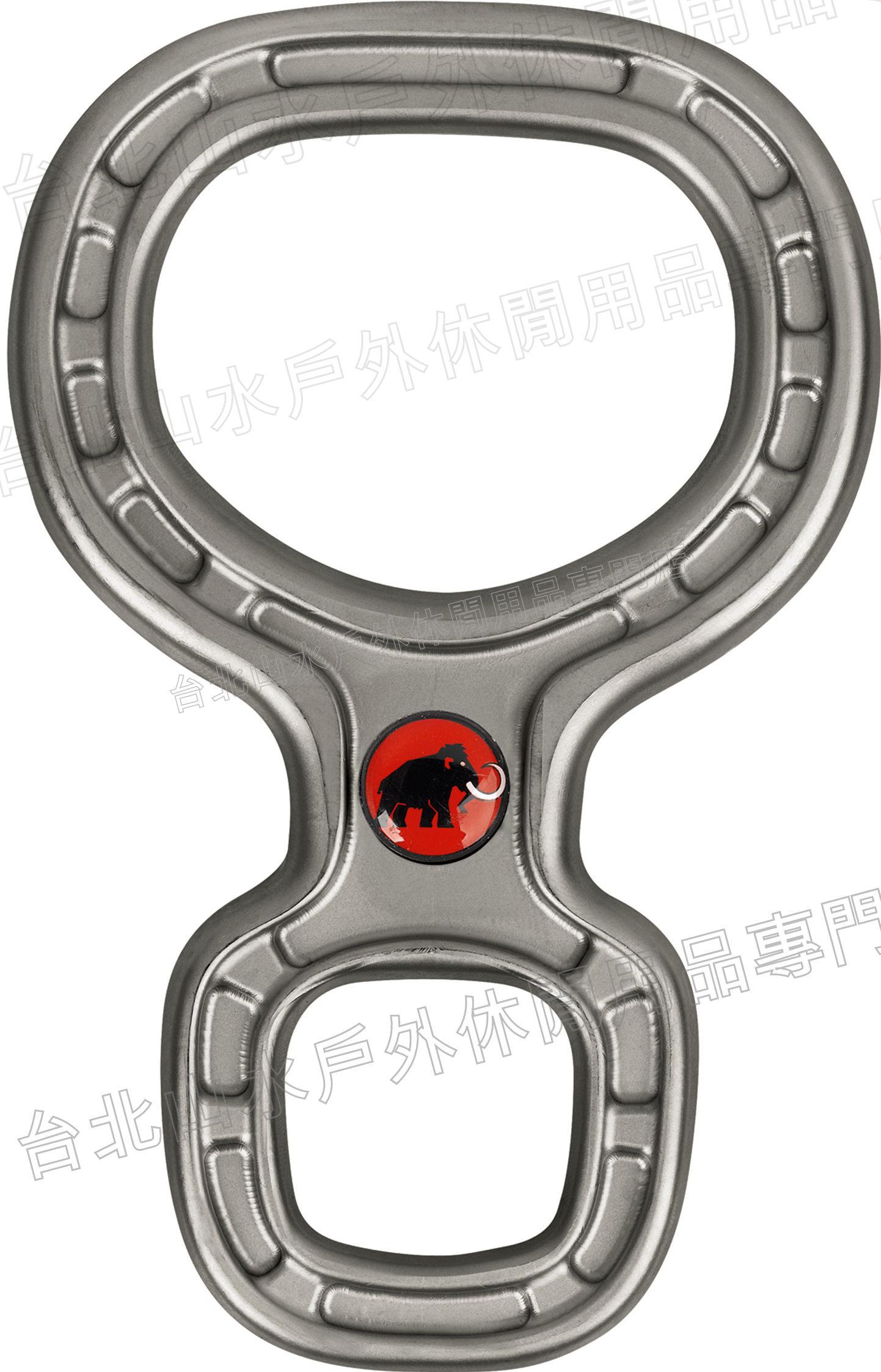 Mammut 長毛象 輕量八字環/8字環下降器 Bionic-8 2210-00690