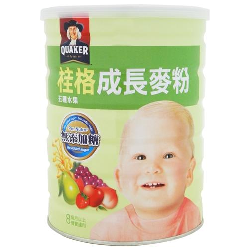 桂格成長麥粉(五種水果) 500g【合康連鎖藥局】