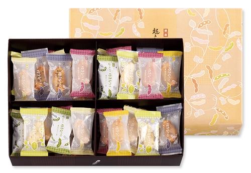 日本代購預購 空運直送 滿600免運 銀座豆花 俏豆豆燒 零食餅乾 48入 綜合禮盒 6707