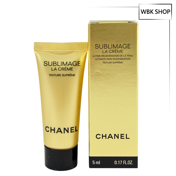 CHANEL 香奈兒 全效再生活膚精華霜(滋潤) 5ml Sublimate La Creme - WBK SHOP