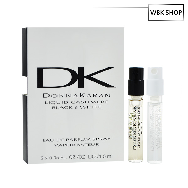 Donna Karan Liquid Cashmere Black & White 女性淡香精 針管小香 1.5mlx2 - WBK SHOP