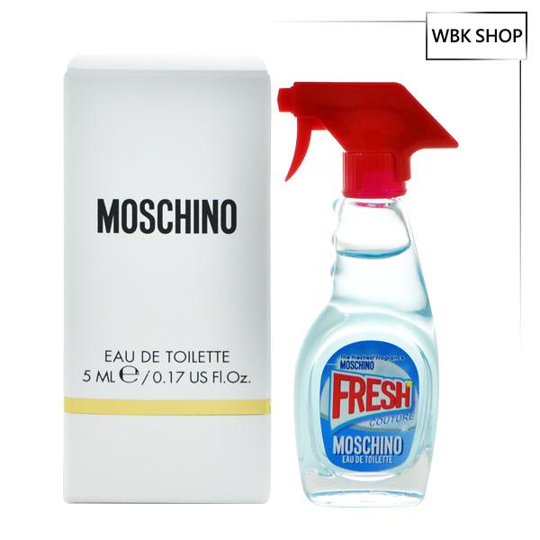 Moschino 小清新清潔劑 沾式 淡香水 5ml Moschino Fresh Couture EDT - WBK SHOP