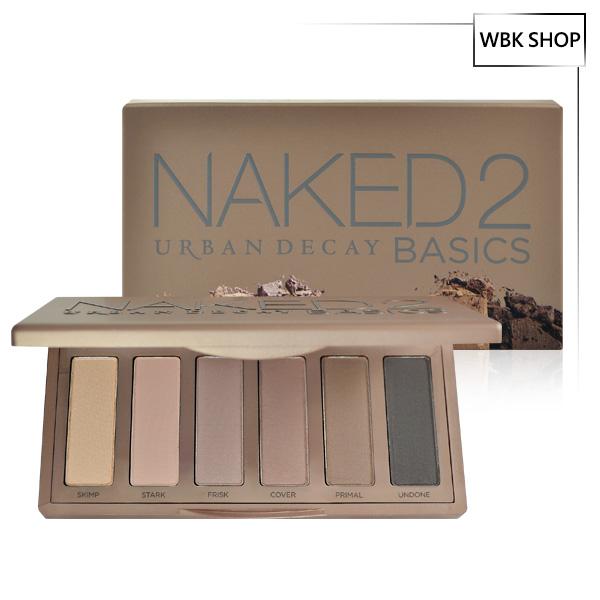 Urban Decay Naked2 Basics 6色眼影盤 6x1.3g - WBK SHOP